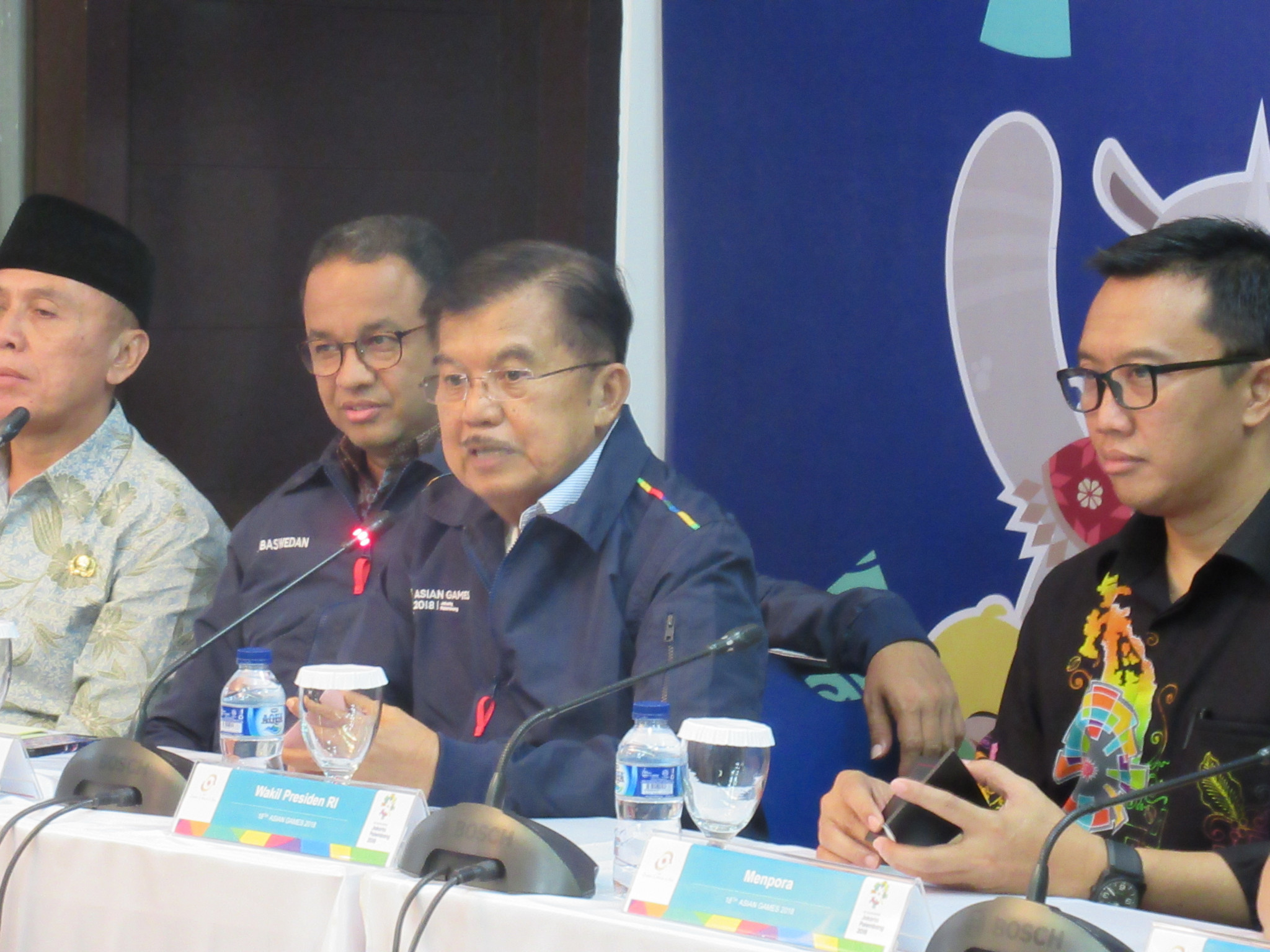 Indonesian vice-president Kalla calls for 2018 Asian Games venues to be completed by July 20