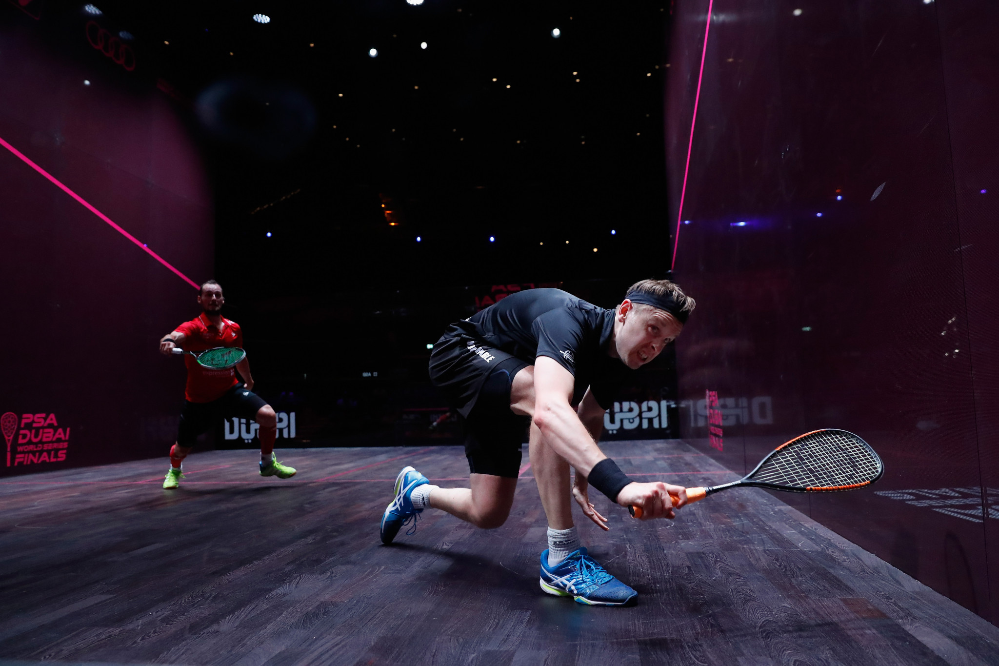 Squash is among sports facing an uphill task to reach the Paris 2024 Olympics ©Getty Images