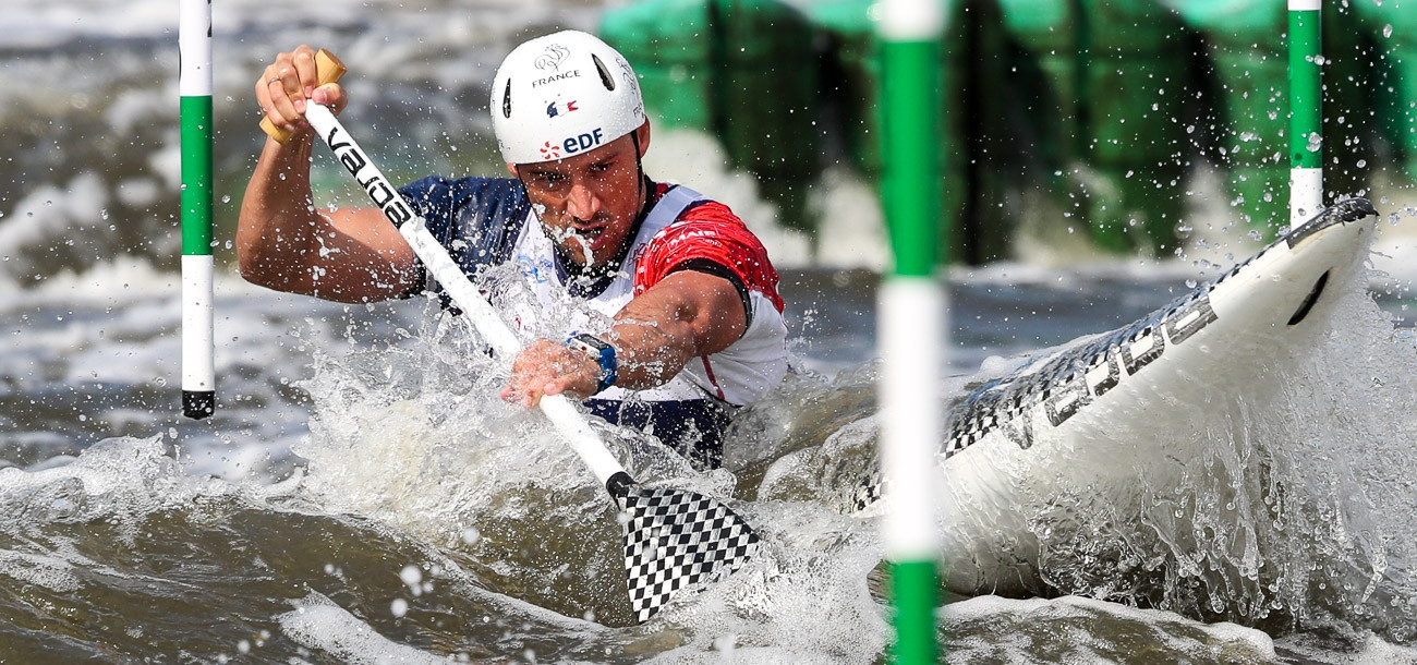 Olympic champions shine as action begins at ICF Canoe Slalom World Cup in Kraków