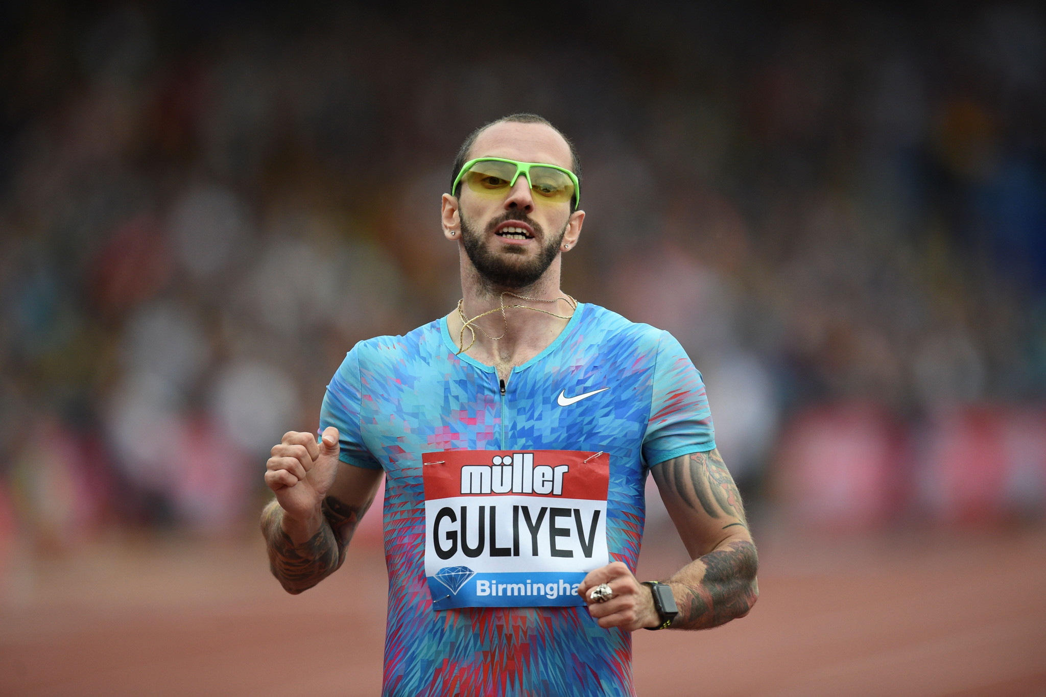 Guliyev wins in record breaking time as athletics kicks into gear at Mediterranean Games