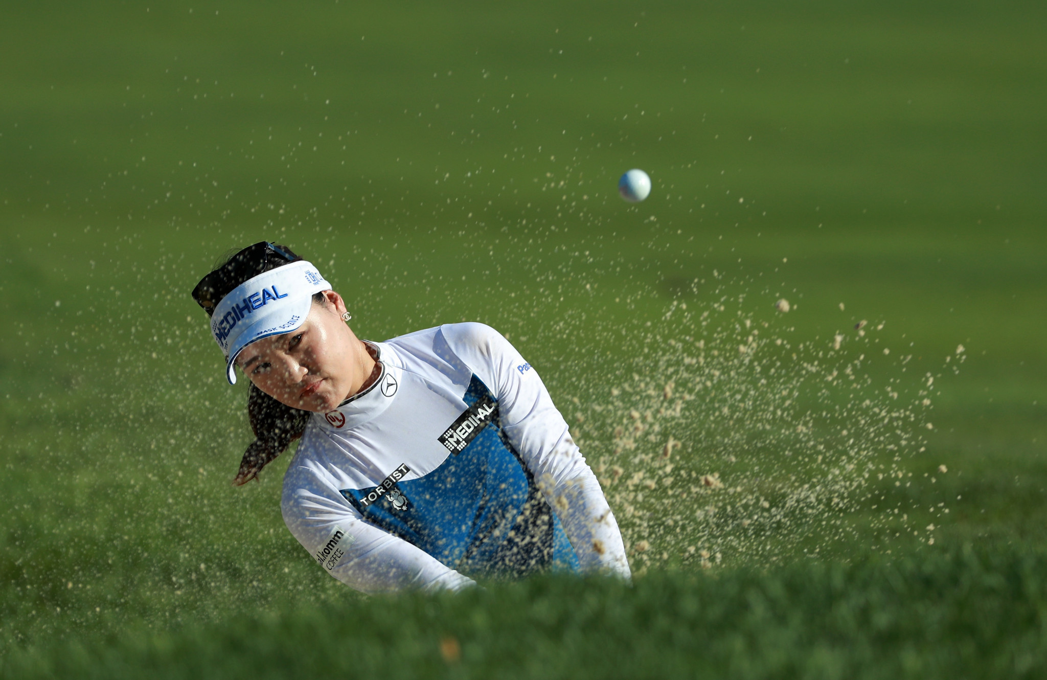 South Korea's Ryu So-yeon is tied for the lead on six-under par after day two of the Women's PGA Championship in Chicago ©Getty Images