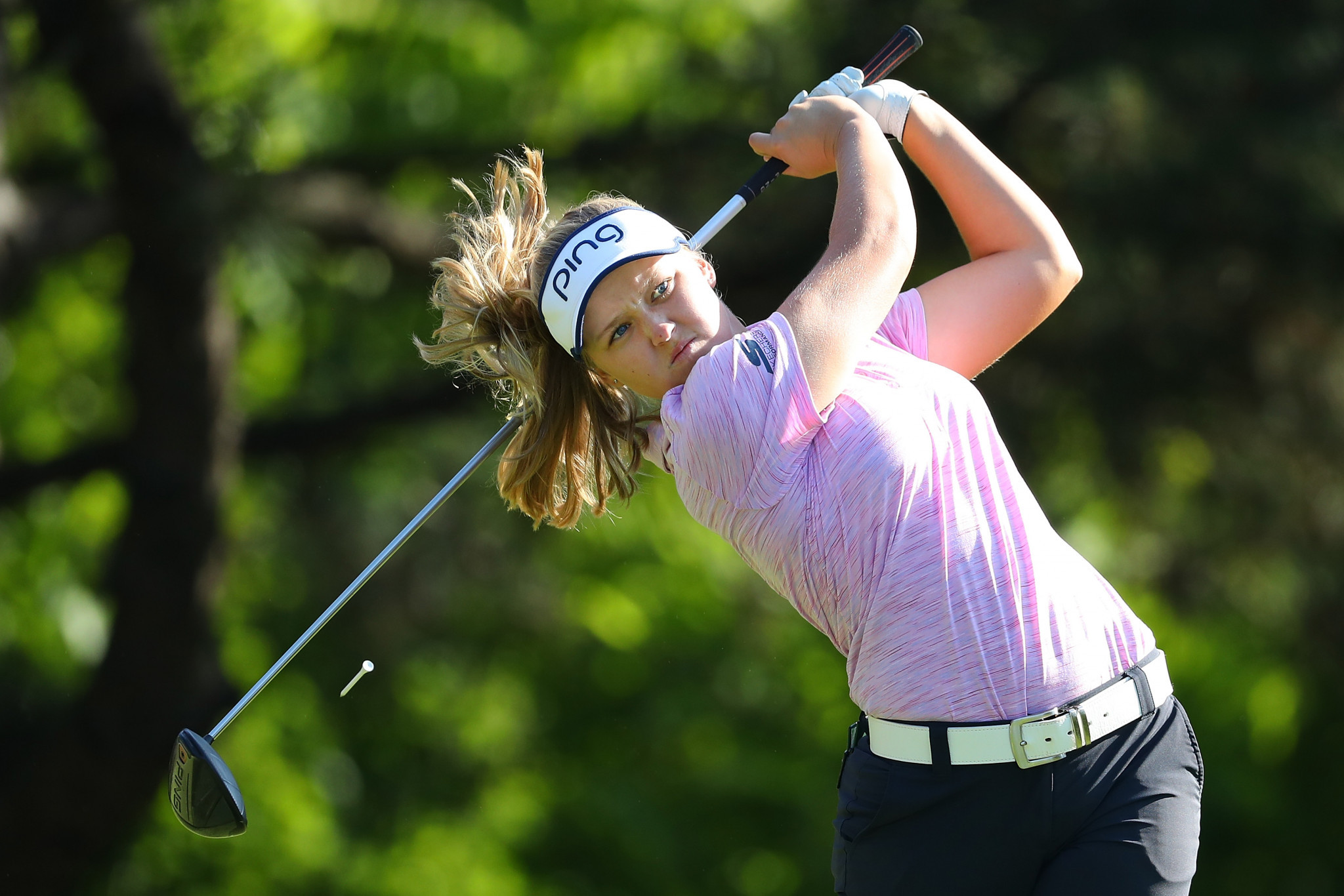 Canada's Brooke Henderson is among the frontrunners ©Getty Images
