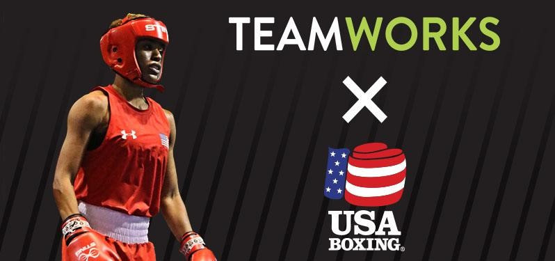 USA Boxing has agreed a new partnership with Teamworks ©USA Boxing