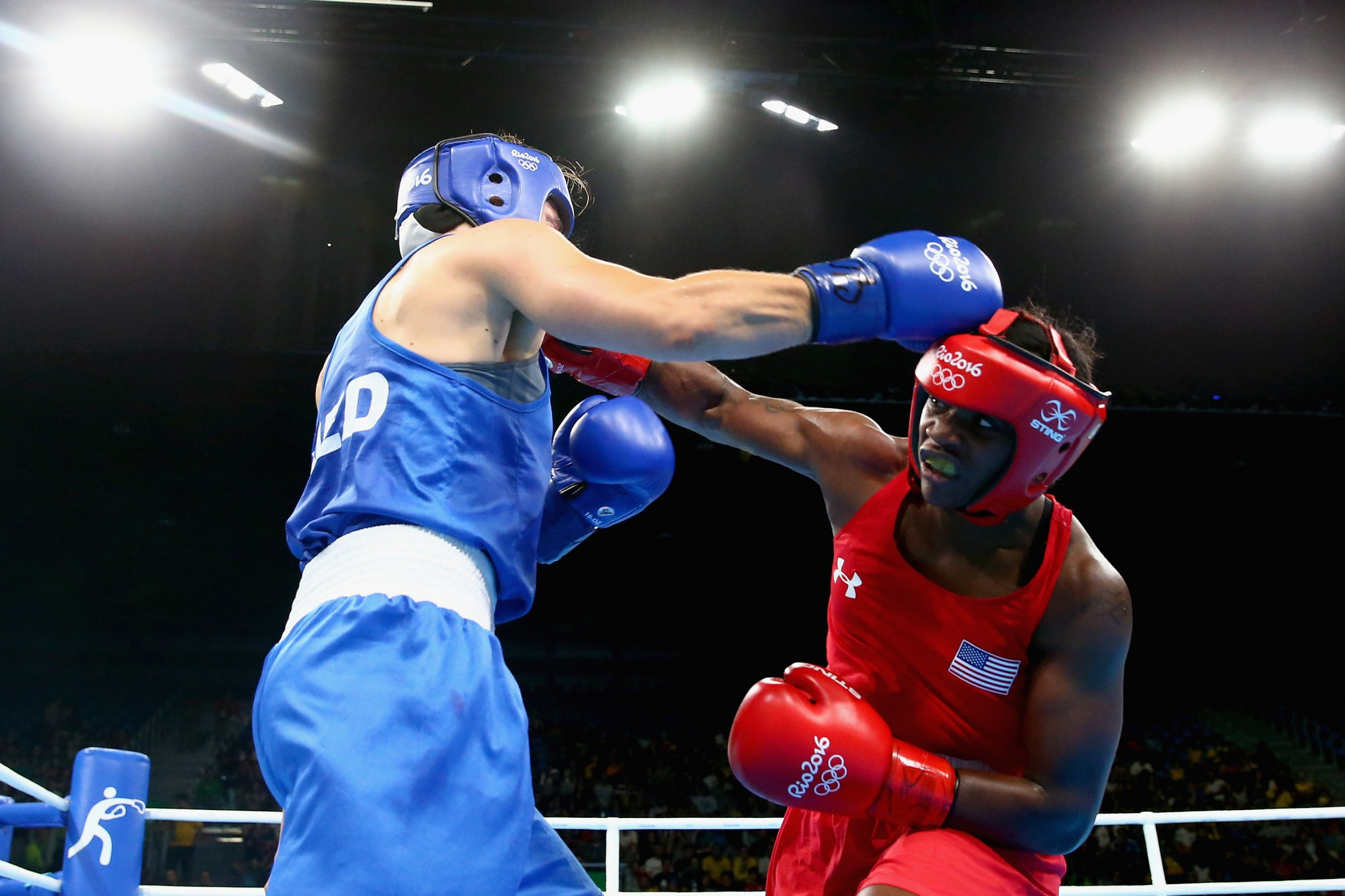 Claressa Shields was the United States' sole gold medallist in boxing at the Rio 2016 Olympic Games ©Getty Images
