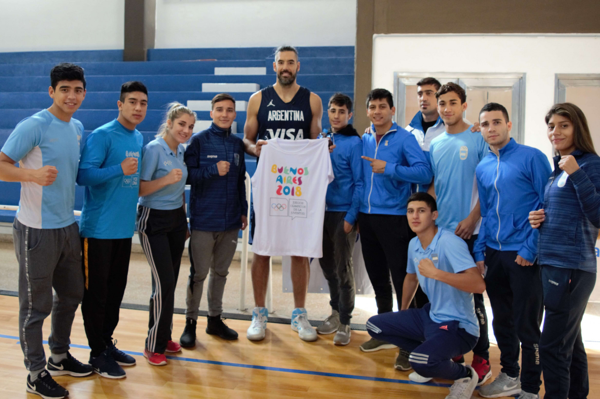 Buenos Aires 2018 boxing hopefuls receive special visit from Scola