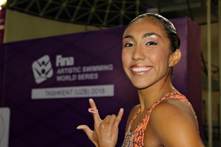 Joanna Betzabe Jimenez Garcia claimed solo technical success for Mexico ©FINA