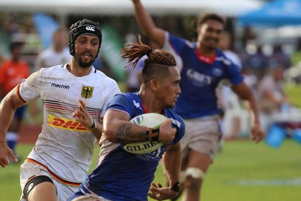 Samoa thrashed Germany today in Apia ©World Rugby
