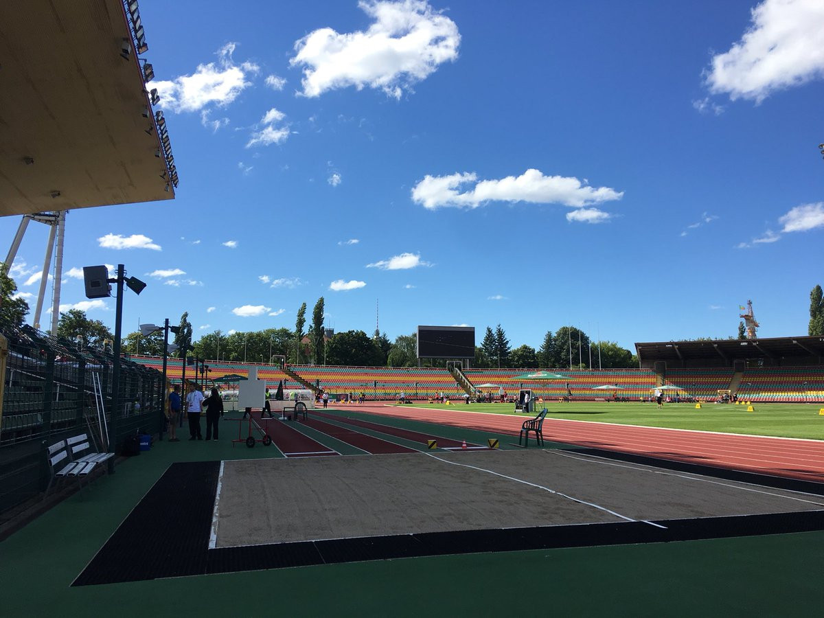 Competition began in sunny conditions in Berlin ©World Para Athletics