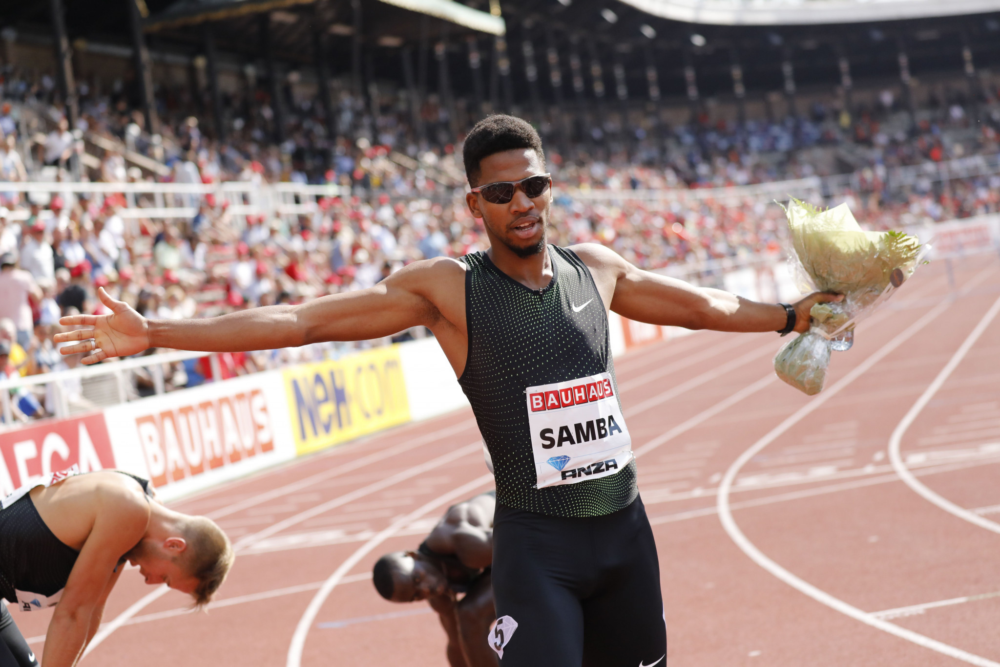 Samba becomes second man to break 47 seconds for 400m hurdles at IAAF Diamond League meeting in Paris