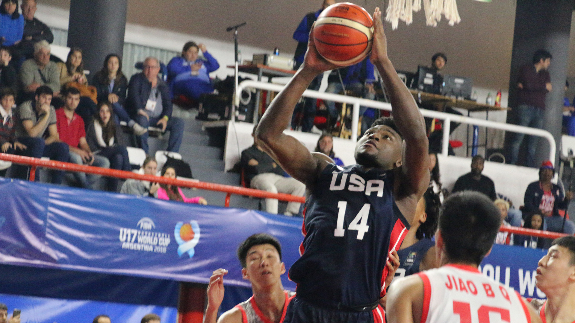 United States thrash China on opening day of FIBA Under-17 World Cup