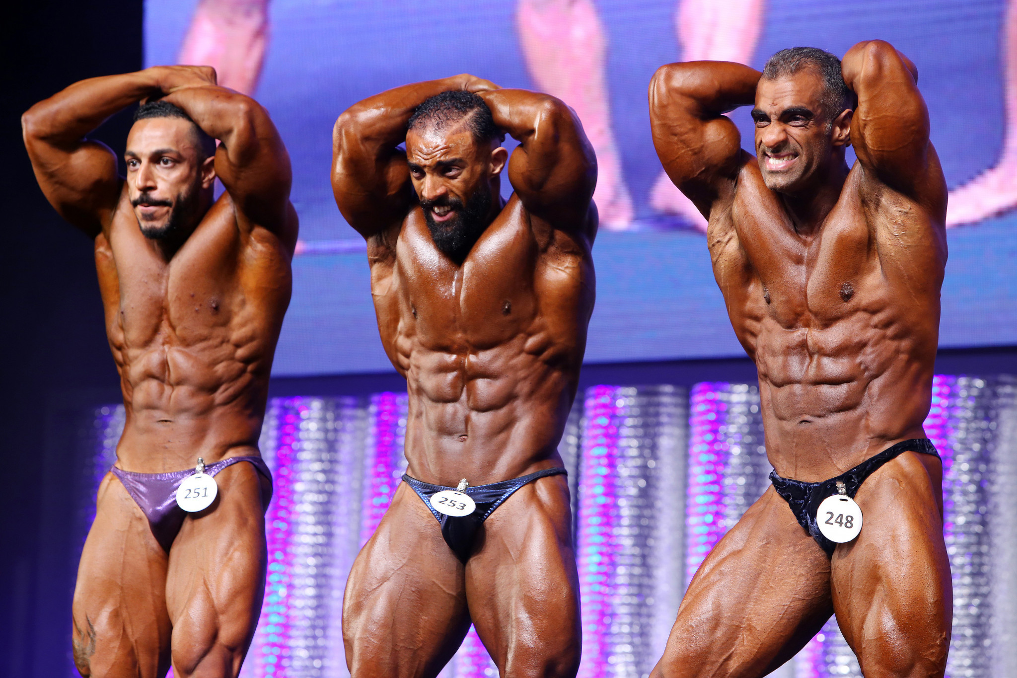Bodybuilding is set to return as a discipline at the World Games in Birmingham in 2021 ©IFBB