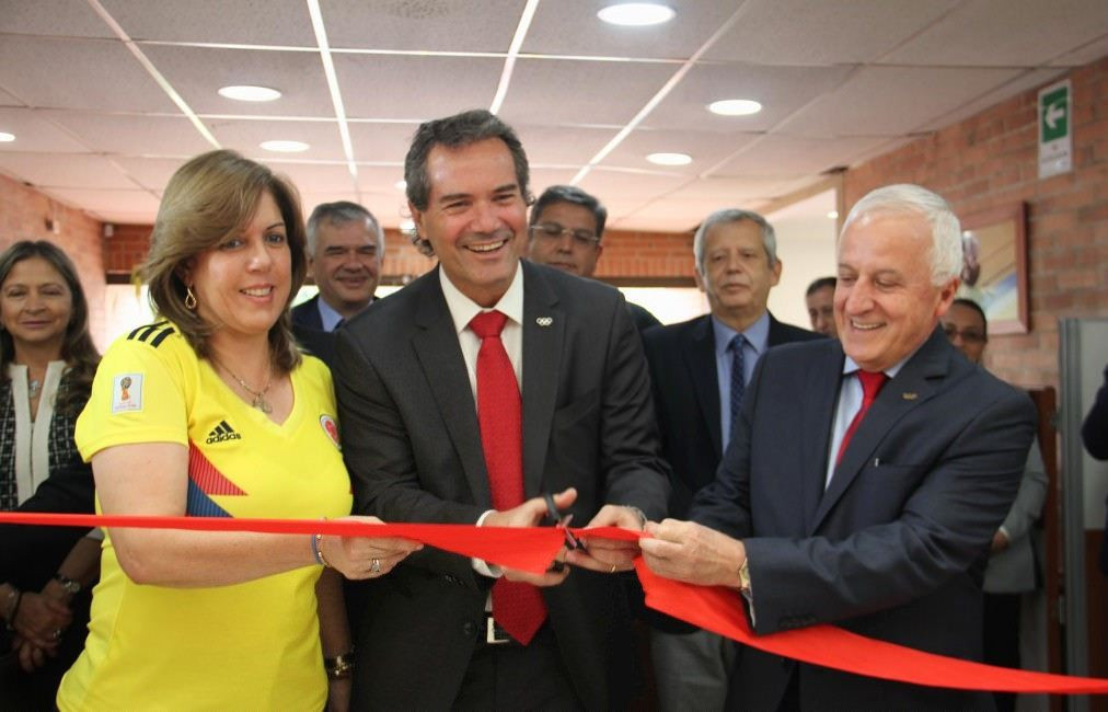 New Colombian Olympic Committee offices opened in Bogota