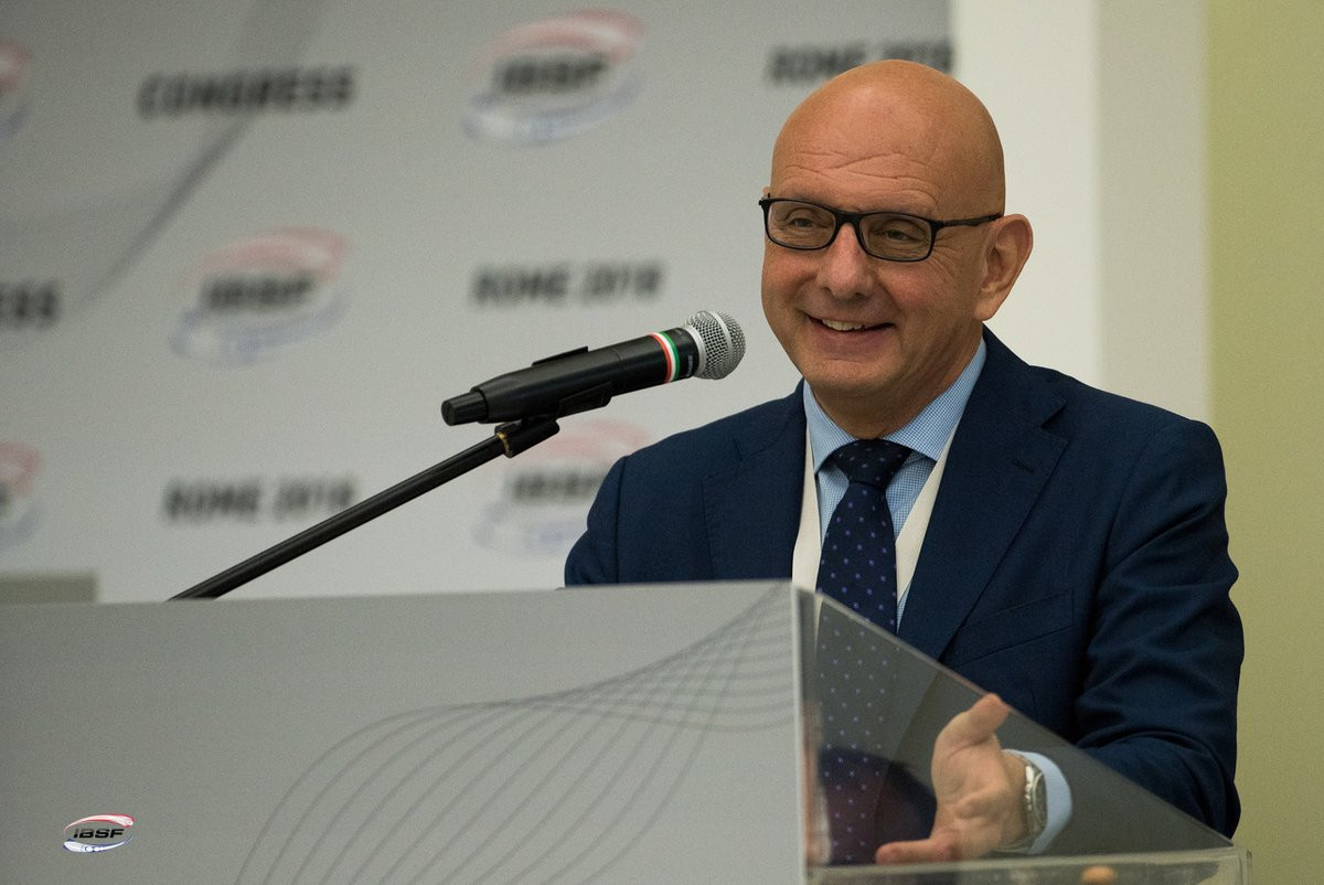Ivo Ferriani led the IBSF Congress ©Getty Images