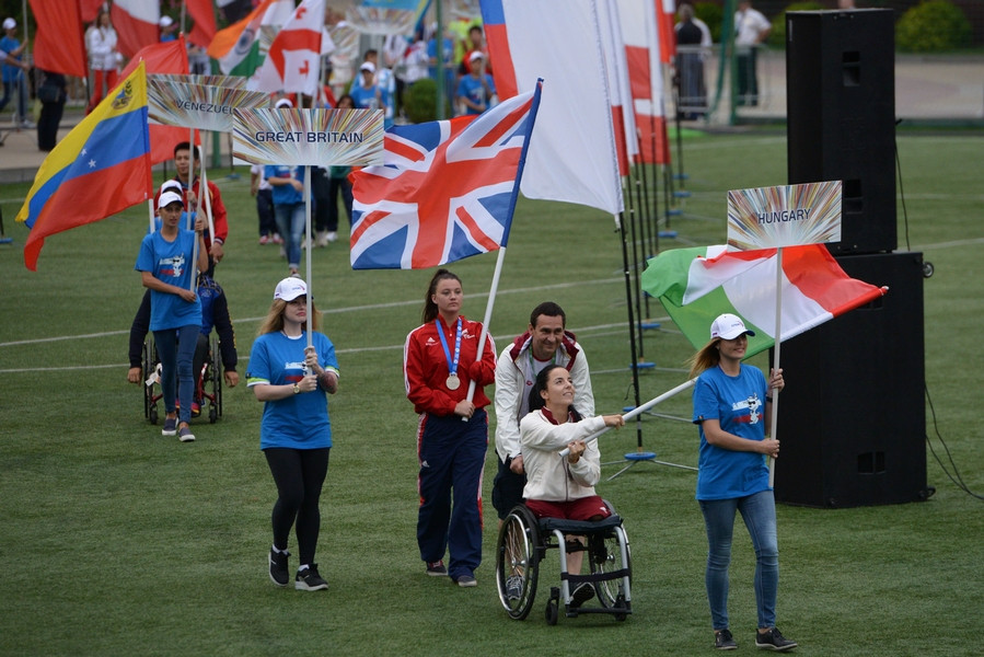 Around 300 athletes from 10 countries are expected to compete in Athlone ©IWAS
