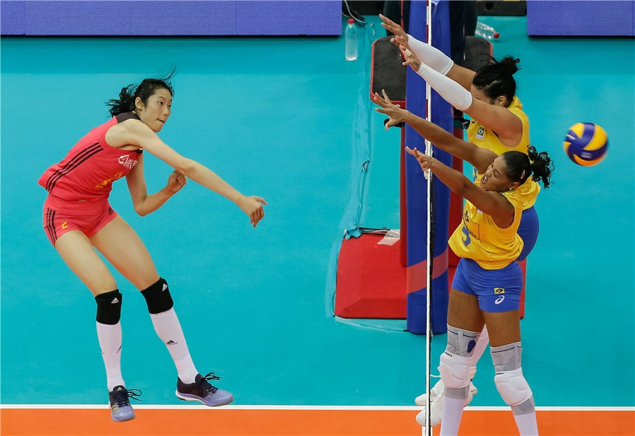 China won home bronze after beating Brazil ©FIVB