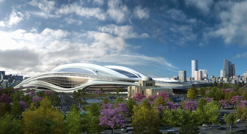 "Architects of scrapped Tokyo 2020 stadium warn of ""lower-quality"" design"