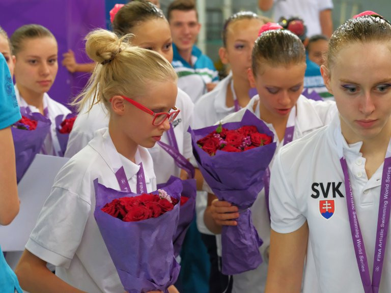 Slovakia beat Uzbekistan to team free glory on final day of FINA Artistic Swimming World Series