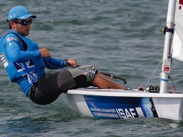 Lorenzo Chiavarini stars on second day of ISAF World Cup in Qingdao
