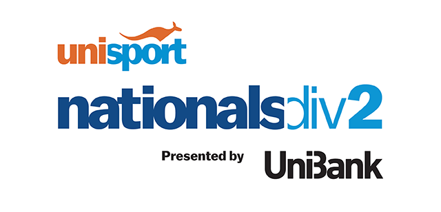 UniSport Australia has announced UniBank as the new presenting partner of the Nationals Div 1 and Div 2 ©UniSport Australia