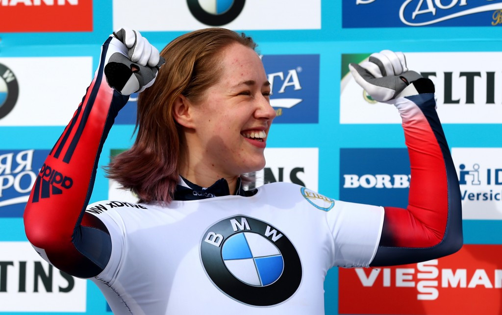 Olympic skeleton champion Lizzy Yarnold has announced she will take a year-long break from the sport ©Getty Images