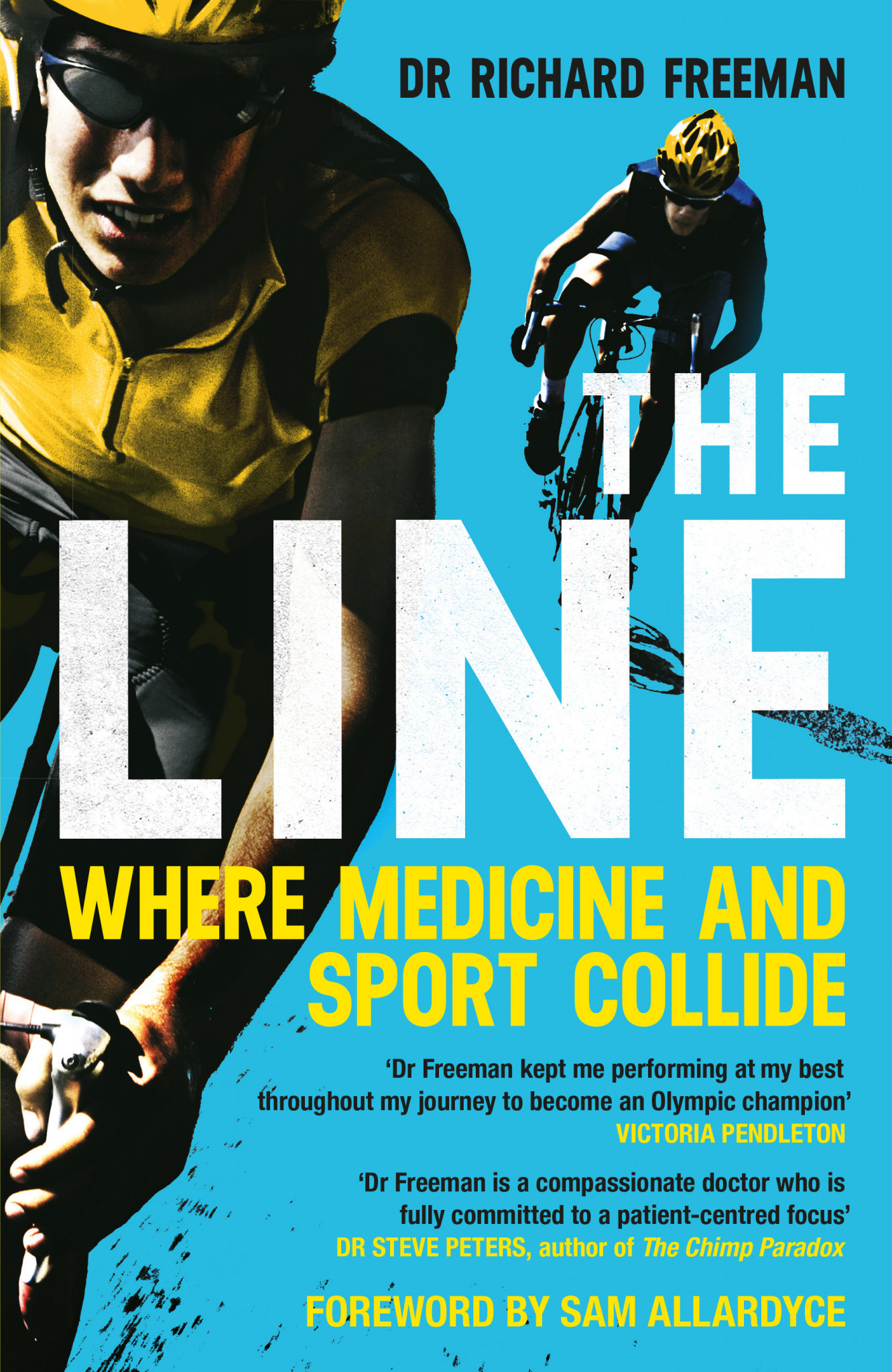 Richard Freeman has controversially written a book The Line: Where Medicine and Sport Collide about his time as British Cycling's doctor, despite claiming to have been too ill to give evidence to a Government inquiry ©Amazon