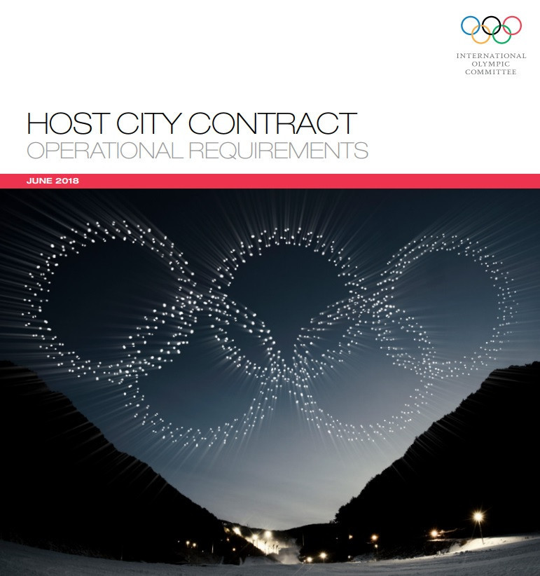 IOC claim decision to publish Host City Contract for 2026 Winter Olympics shows commitment to transparency