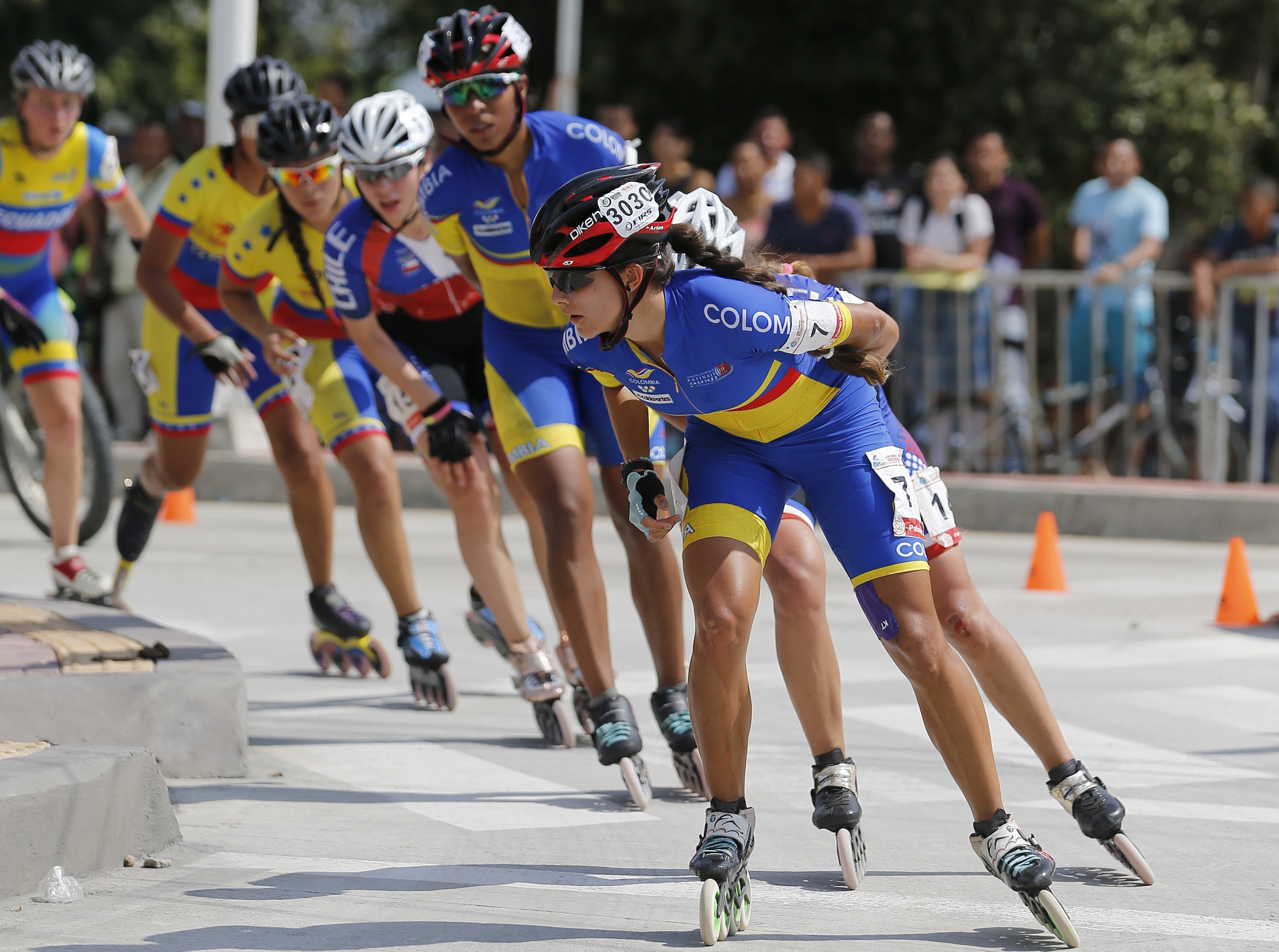 Colombia continue to dominate the Inline Speed Skating World Championships in Heerde, winning another three golds today ©Getty Images