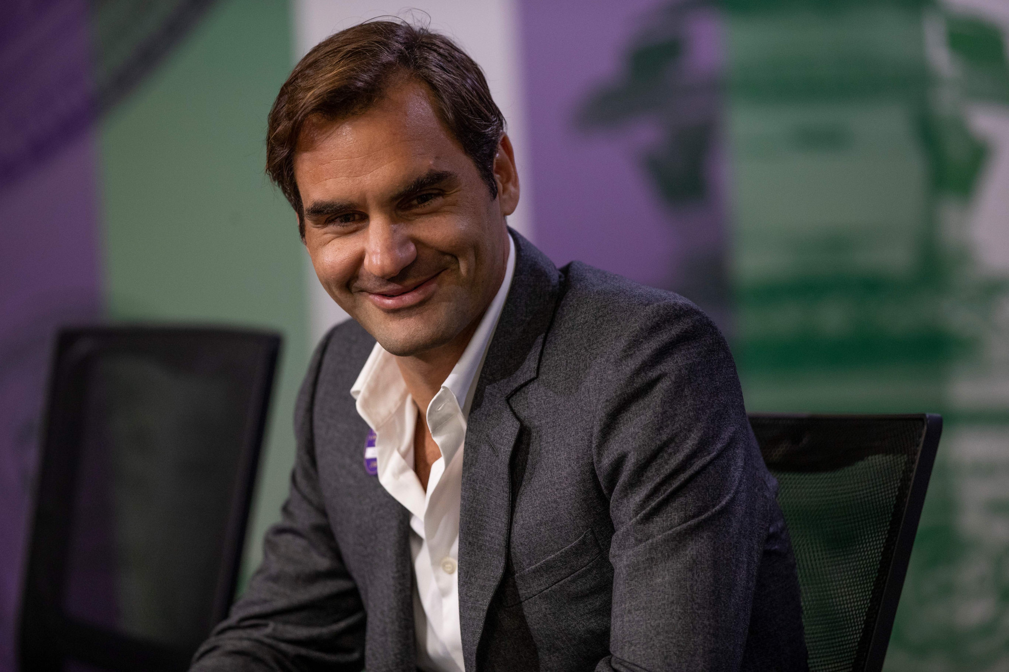 Roger Federer has said he thinks there will never be enough drug testing in tennis ©Getty Images