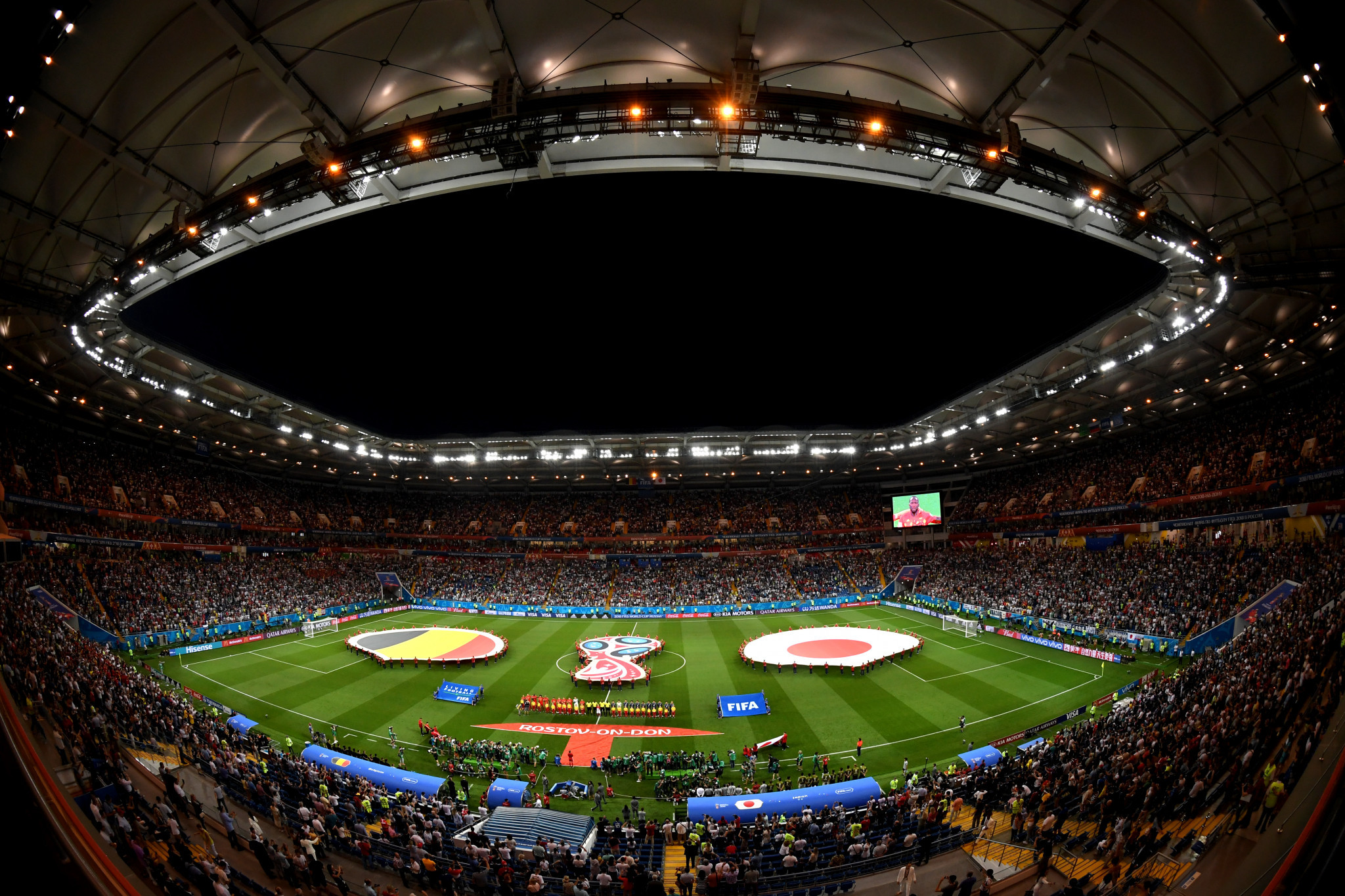 FIFA claim average of 98 per cent stadium occupancy during World Cup group stage
