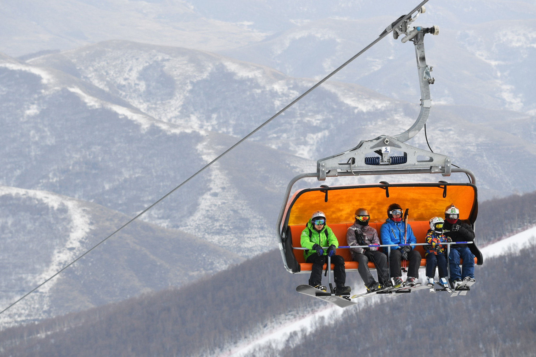 The Chinese Government's goal is to engage 300 million new winter sport participants by 2022 ©Getty Images