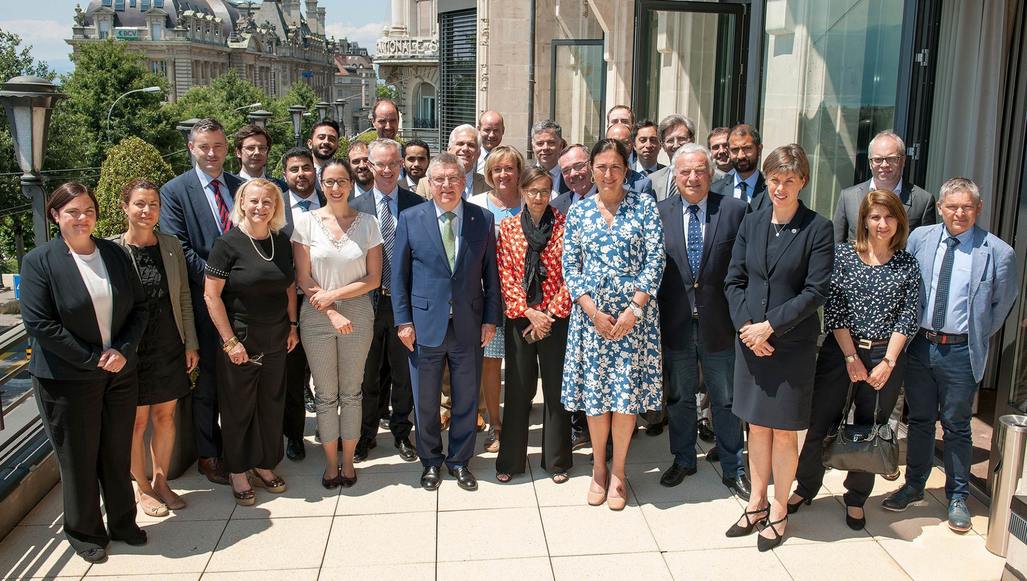 Bach calls for quick and effective measures against corruption after Lausanne meeting