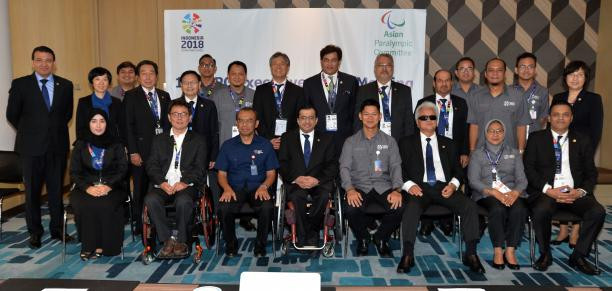As well as adding road cycling to the programme for the Asian Para Games, the APC board were also updated on preparations for the Games and their 2019 General Assembly ©APC