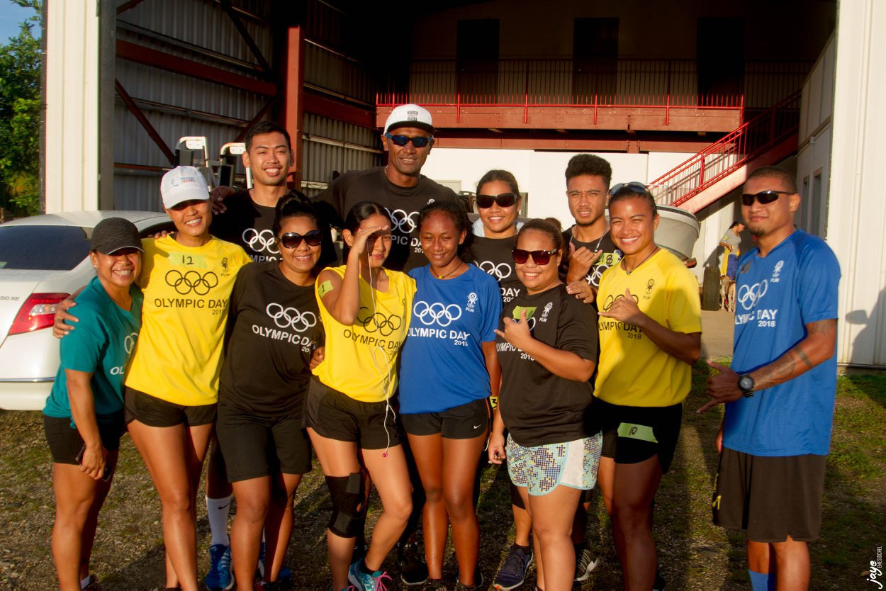 The Palau National Olympic Committee celebrated Olympic Day ©PNOC