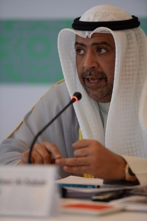 OCA President Sheikh Ahmad believes the election in Ashgabat is a sign of progress ©OCA