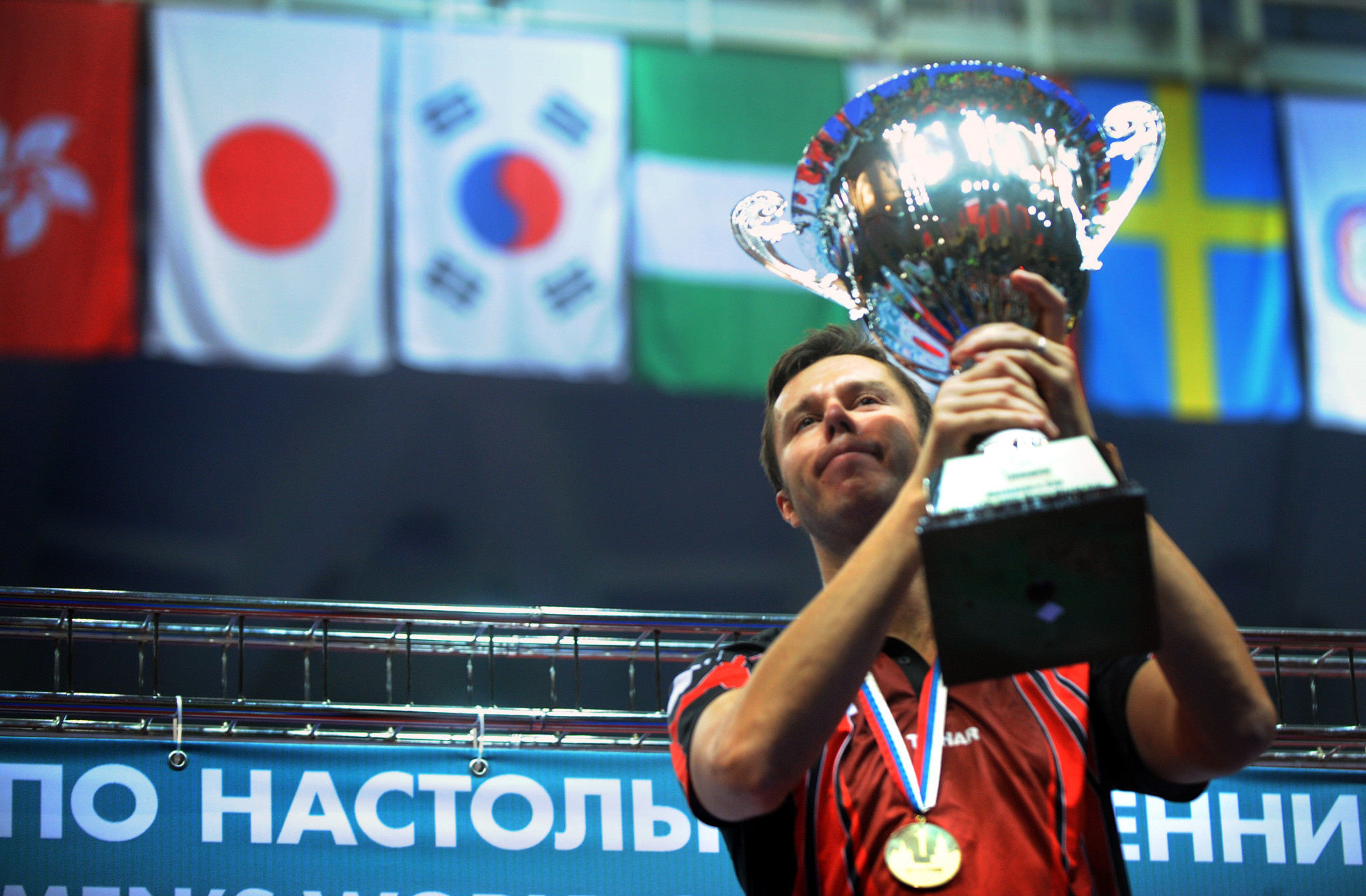The top eight athletes at the end of the Oceania tour will have a chance to compete in the ITTF World Cup ©Getty Images
