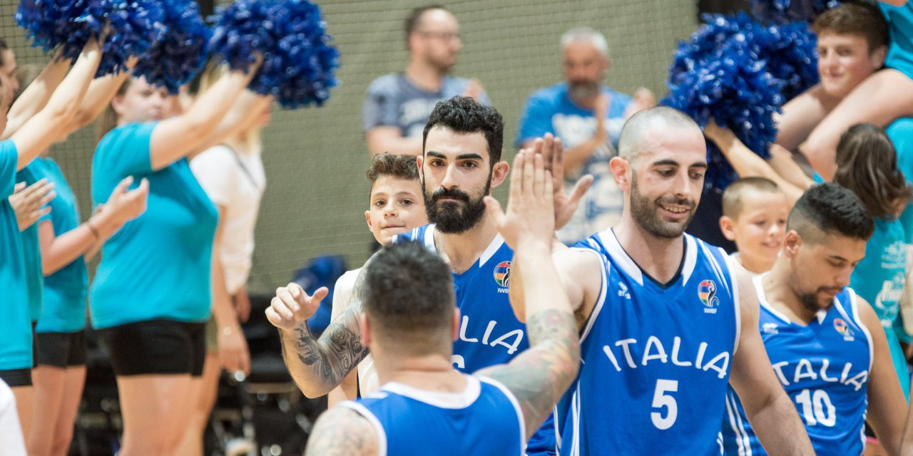 Italy name squad for 2018 Wheelchair Basketball World Championships