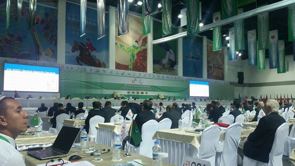 Elections at the Afghanistan National Olympic Committee were endorsed at the OCA General Assembly ©OCA