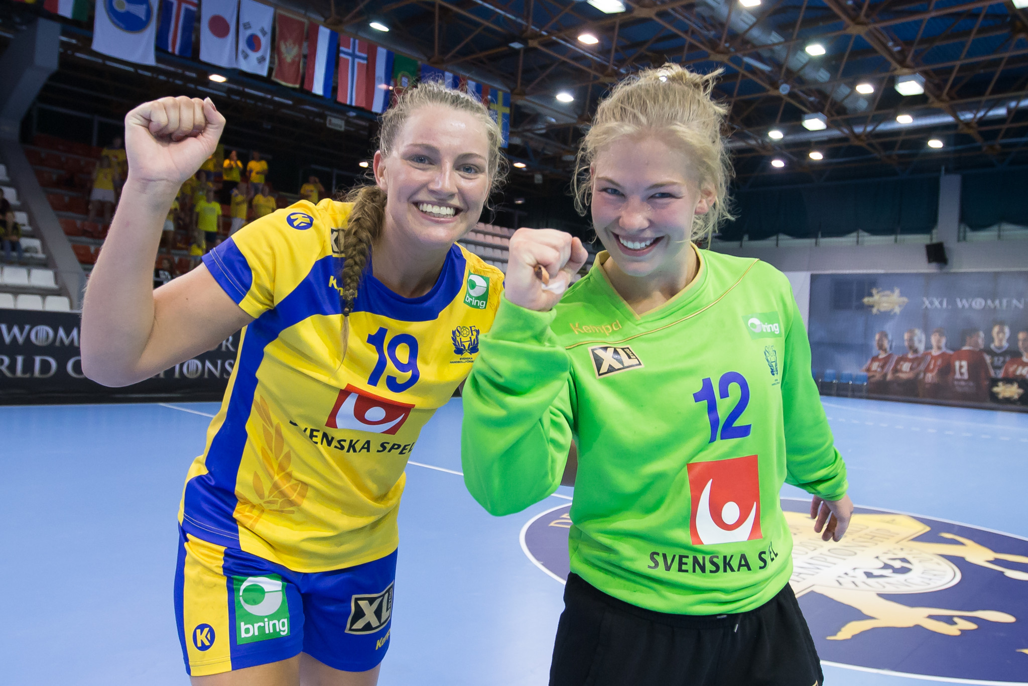 Russia, France and Sweden record second wins at Women's Junior Handball Championship