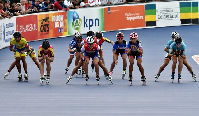 South Korea and Colombia claim junior 5,000m gold medals at Inline Speed Skating World Championships