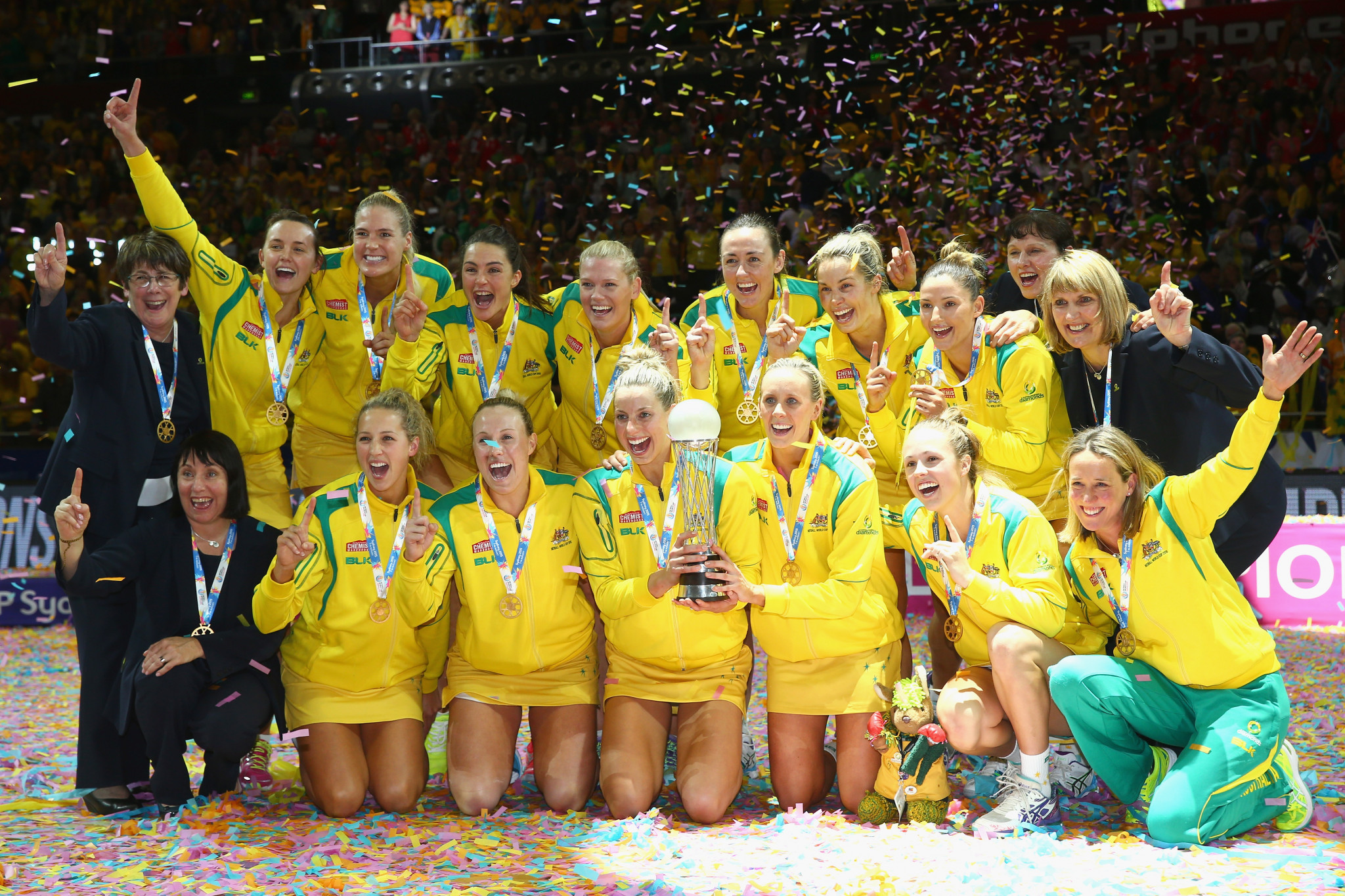 Australia are the reigning Netball World Cup champions ©Getty Images