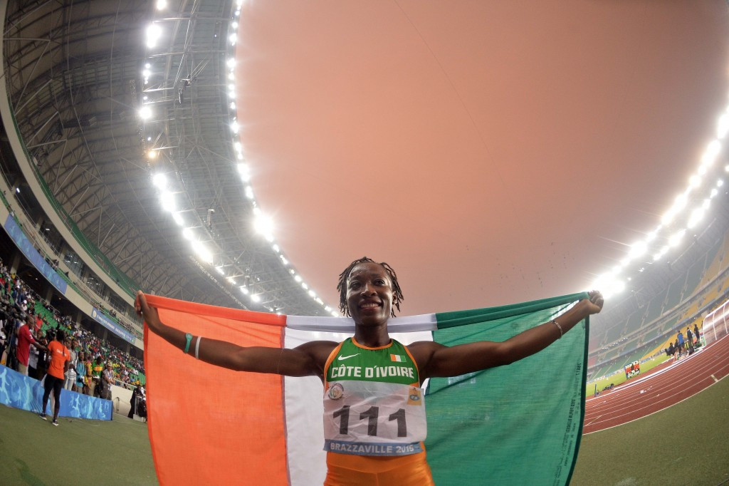 Talou completes sprint double for Ivory Coast at All-Africa Games