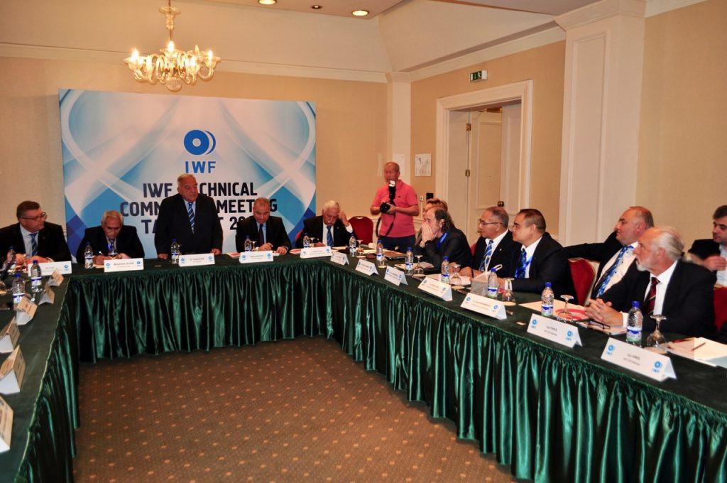 The IWF is holding a series of meetings in Tashkent this week ©IWF