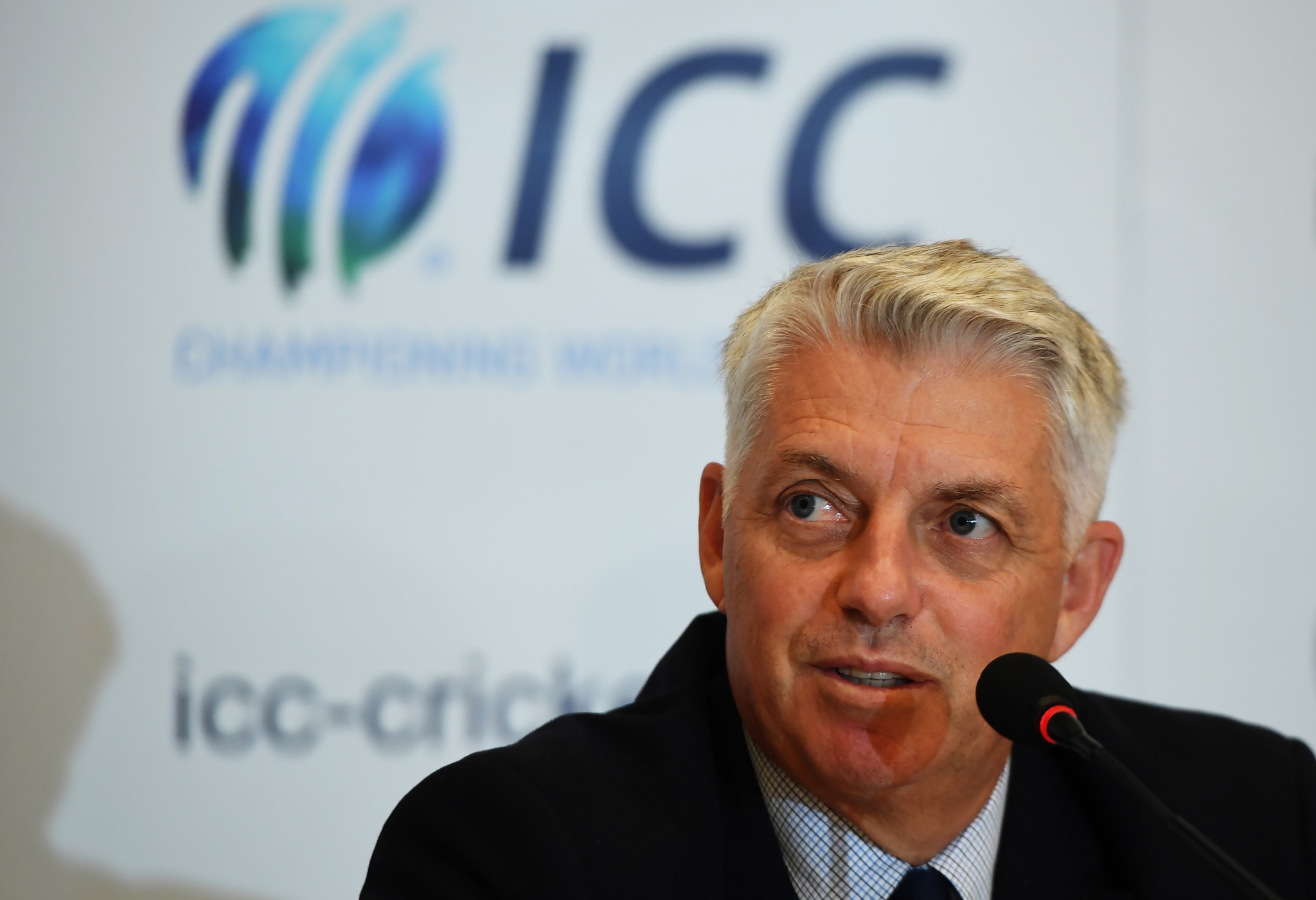 David Richardson will step down as chief executive of the International Cricket Council after next year's World Cup ©Getty Images