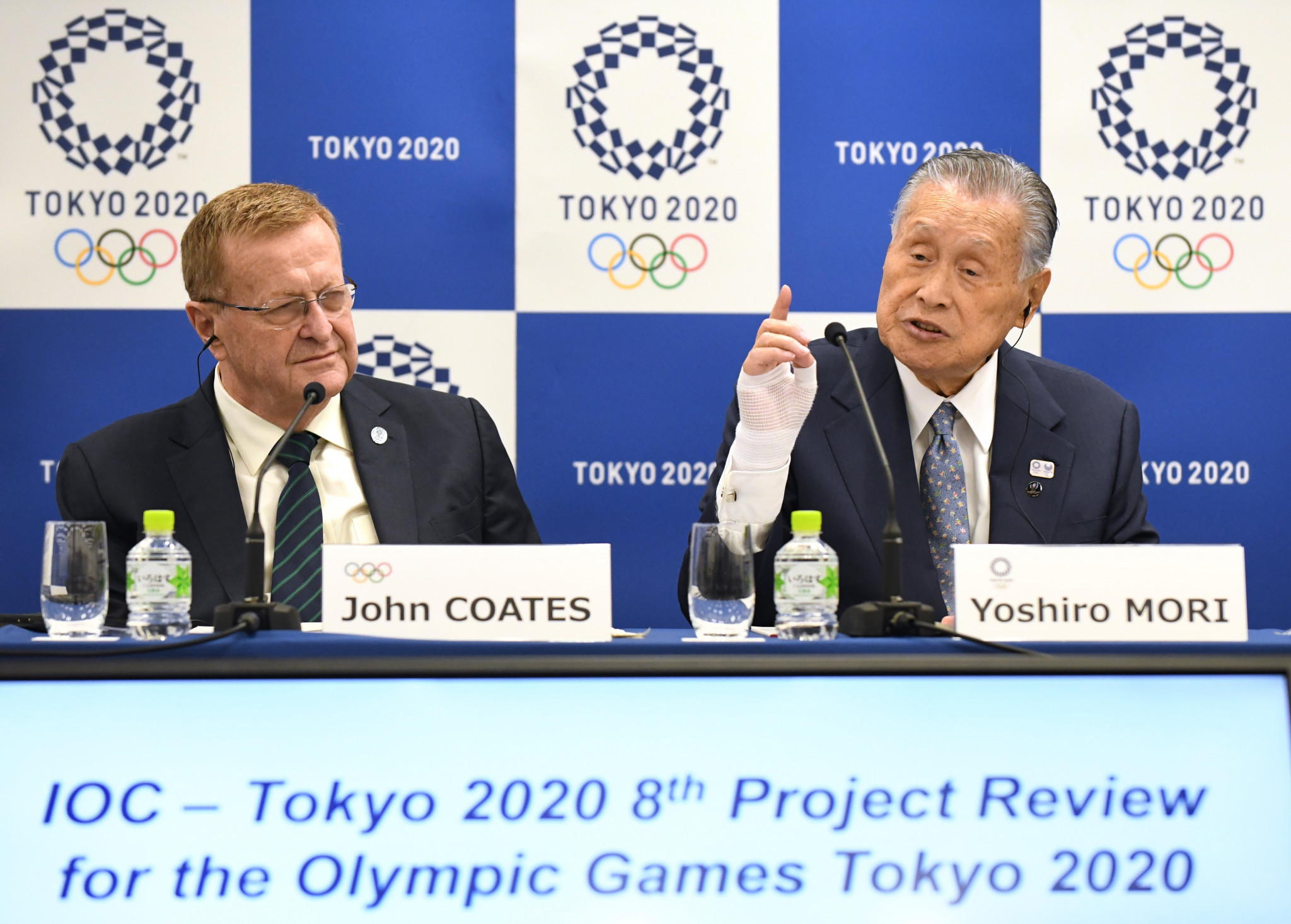 Tokyo 2020 ticket prices are set to be on the agenda when the IOC Coordination Commission visit next week ©Getty Images