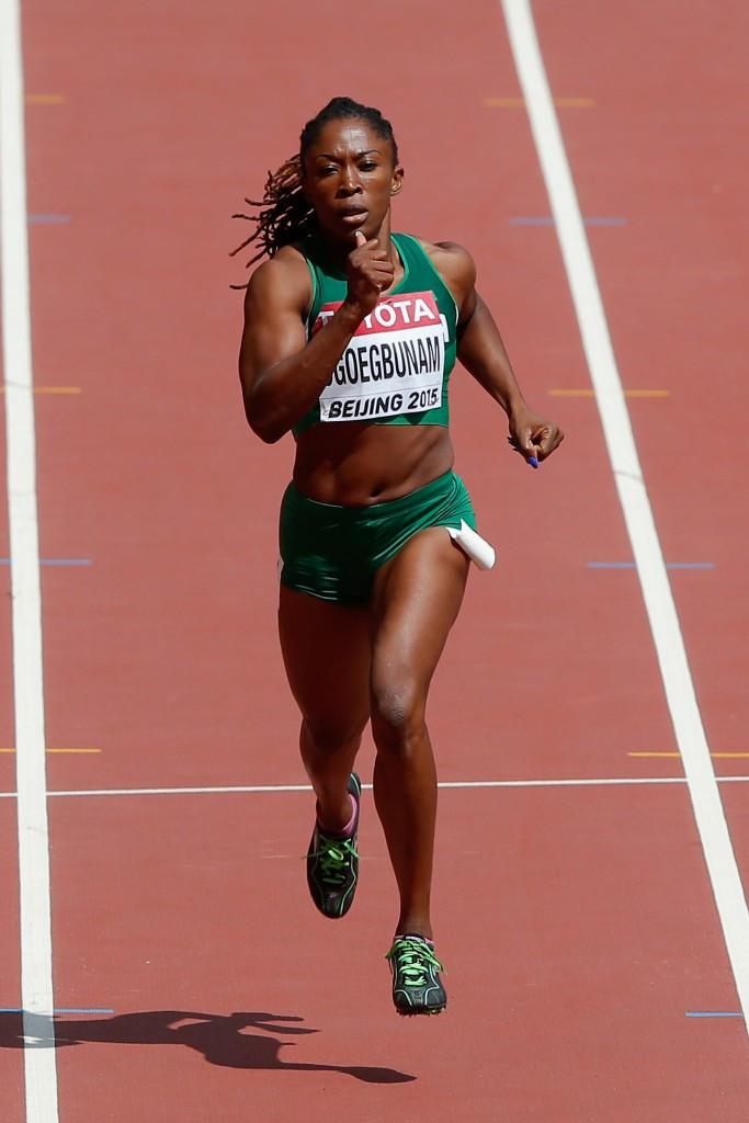 Amaka Ogoegbunam won 400m hurdles gold for Nigeria
