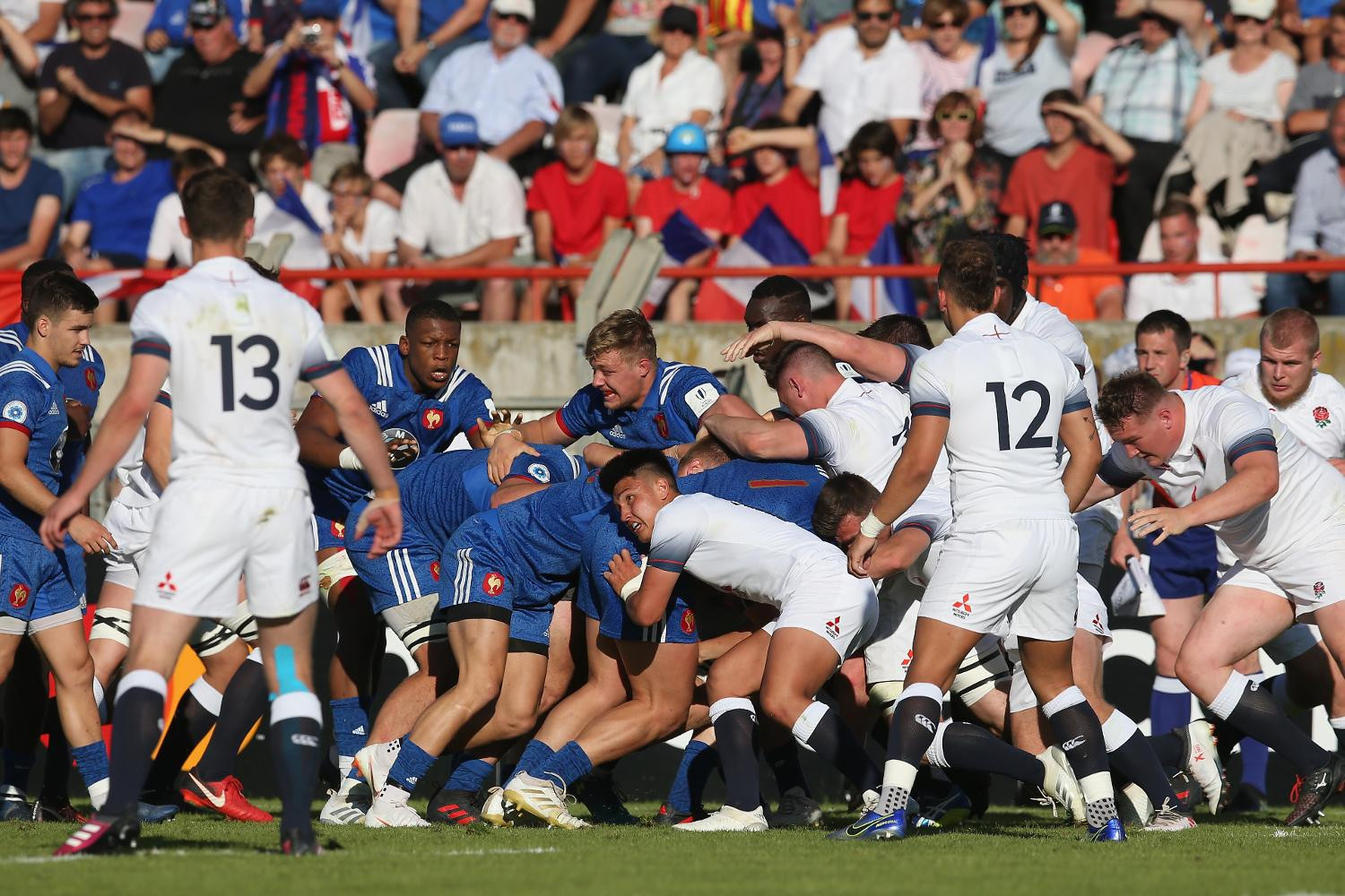 France overcame England in the final ©World Rugby