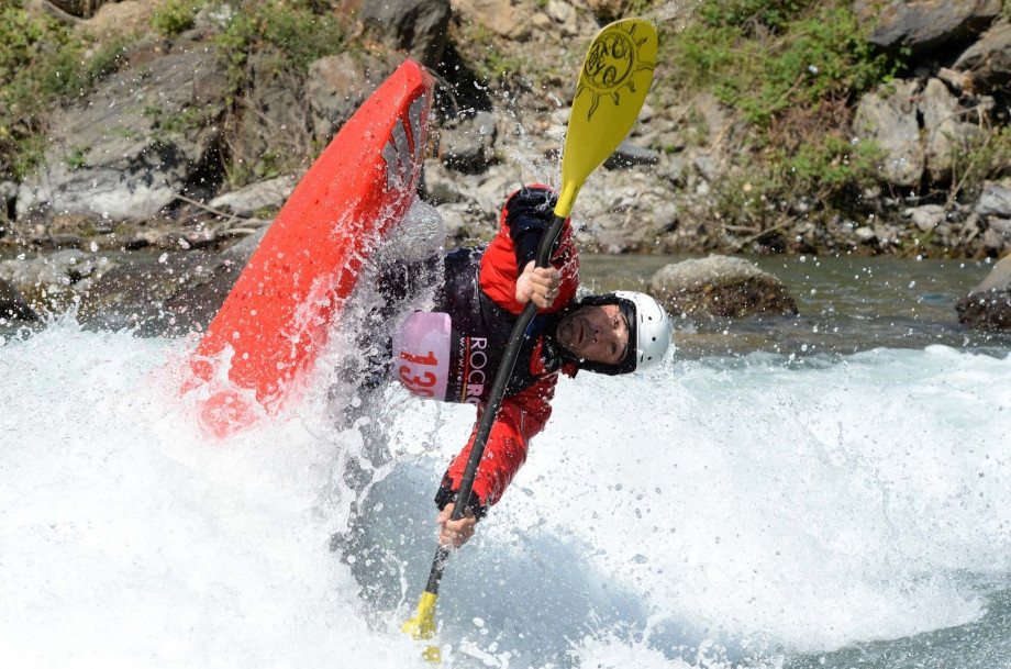 Finals took place today at the Canoe Freestyle World Cup ©ICF
