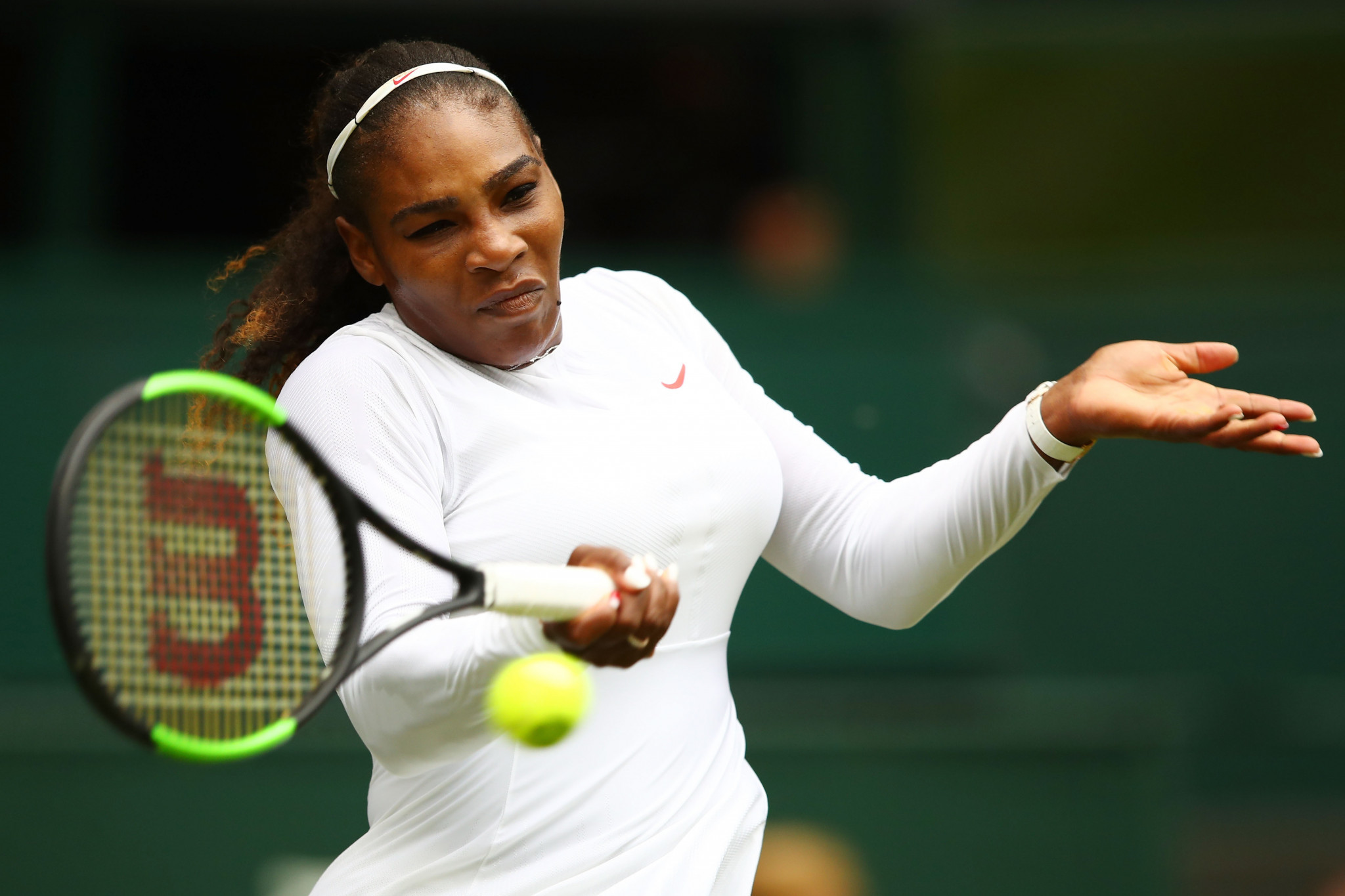 Serena Williams was another winner at Wimbledon today ©Getty Images