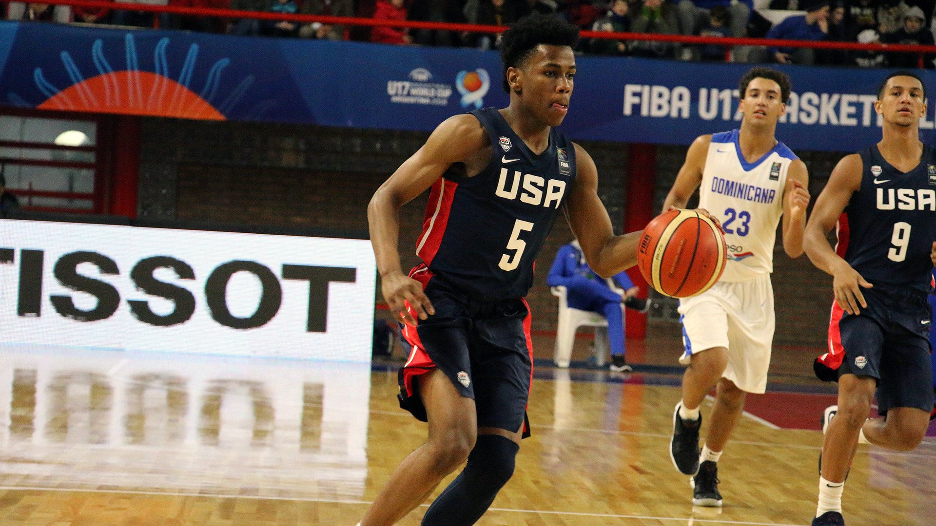 United States cruise into quarter-finals at FIBA Under-17 World Cup