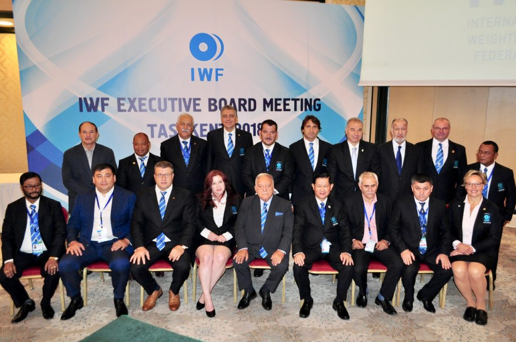 The IWF Executive Board has concluded its two-day meeting in Tashkent ©IWF